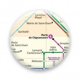 Métro - Porte de clignancourt