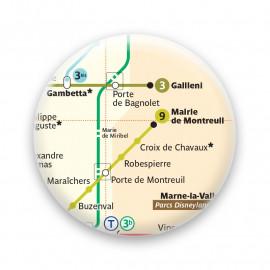Métro - Montreuil