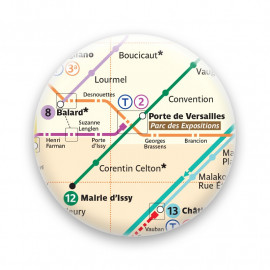 Métro - Porte de Versailles
