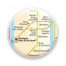 Métro - Boulogne