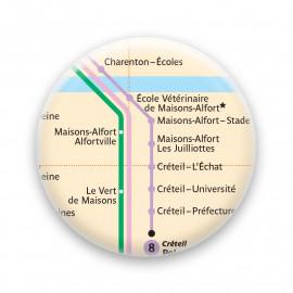 Métro - Maisons-Alfort