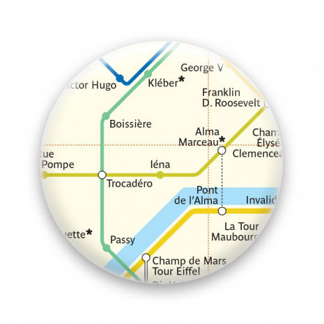 Métro - Trocadéro