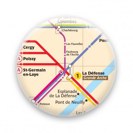 Métro - La Défense
