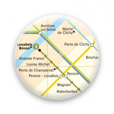 Métro - Porte de Champerret