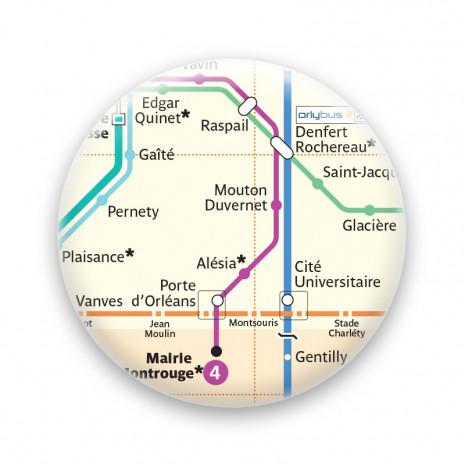 Métro - Porte d'Orléans