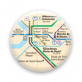 Métro - Saint-Denis