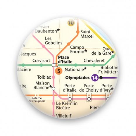 Métro - Place d'Italie