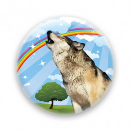 Over the rainbow - Wolf