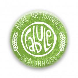 Décapsuleur Brasserie La Fabule - vert
